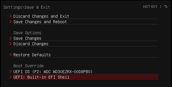 起動しないマシンをUEFI Shellで救う – Boot macOS