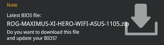 ASUSのBIOSを1105に更新すると起動しない – Boot macOS